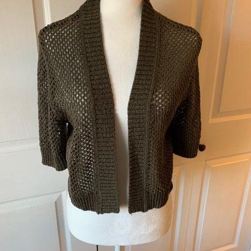 Shrug sweater woman croft & Barrel sz Lg