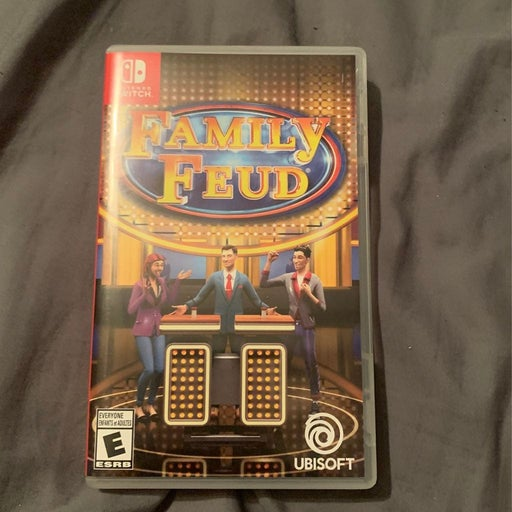 Nintendo Switch Family Fued Game