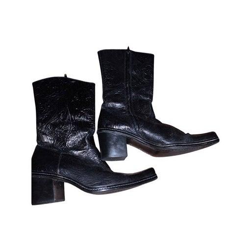 Giani bini 8.5 Black western boots