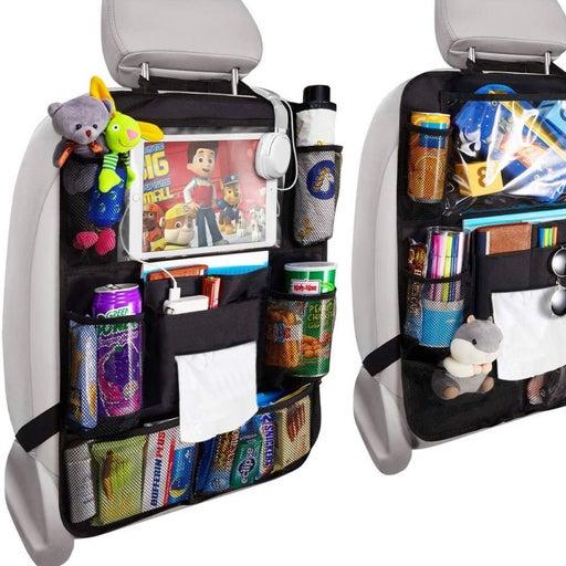 Toddler Kick Mat/Organizer for Car Seat