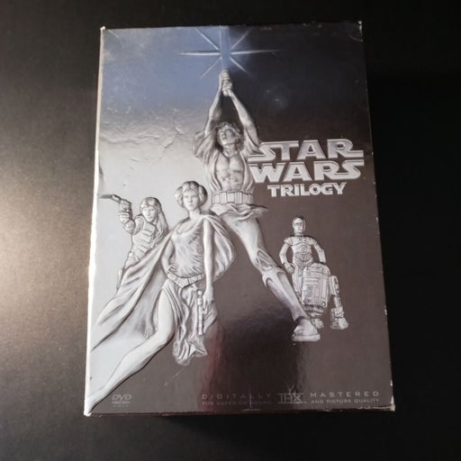 Star Wars for the DVD trilogy box set fo