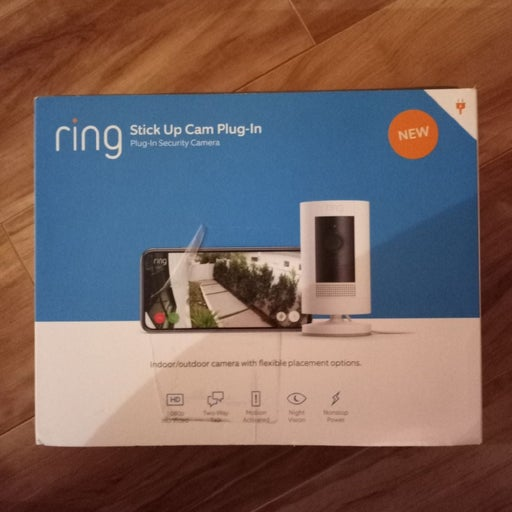 Ring Stick Up Indoor/Outdoor Wired and w