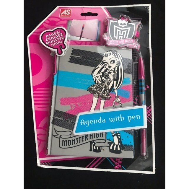 Monster High Agenda With Pen