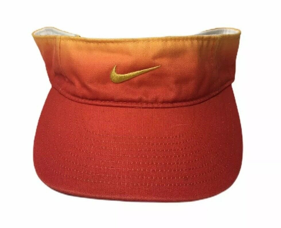Nike Swoosh Visor Orange Adult OSFA