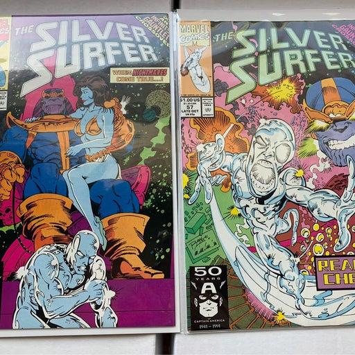 Silver Surfer 56, 57 VF/NM