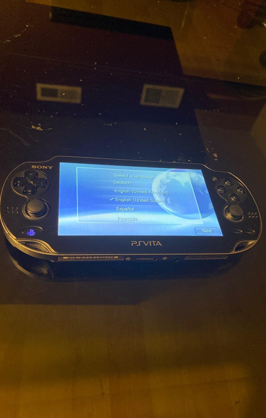 Sony PS Vita PCH 1001 Model Handheld