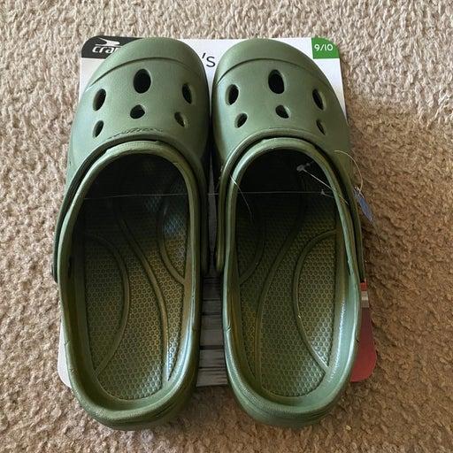 Mens Croc Inspired Clogs