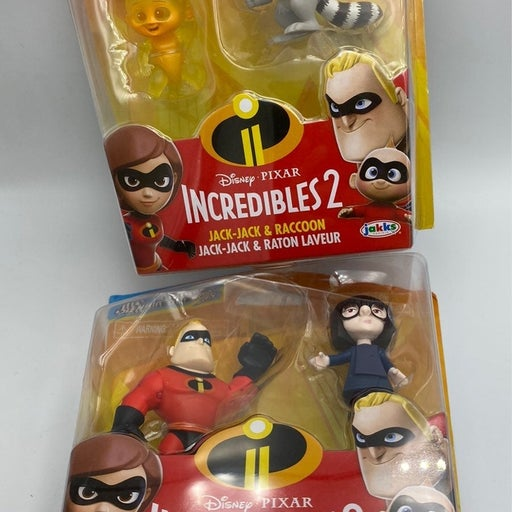 The incredibles 2 movie mini toys