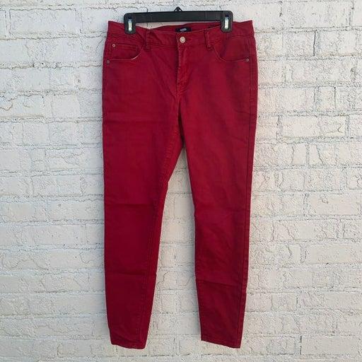 Kensie jeans red sz 10/30 jeans