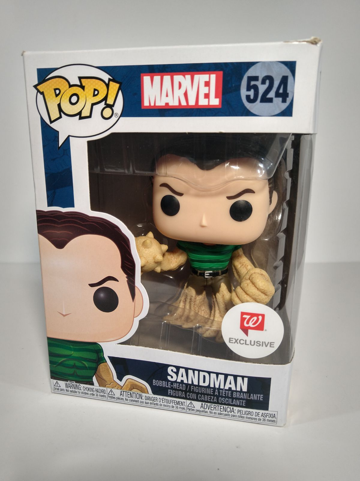 SANDMAN- Funko POP with protection case