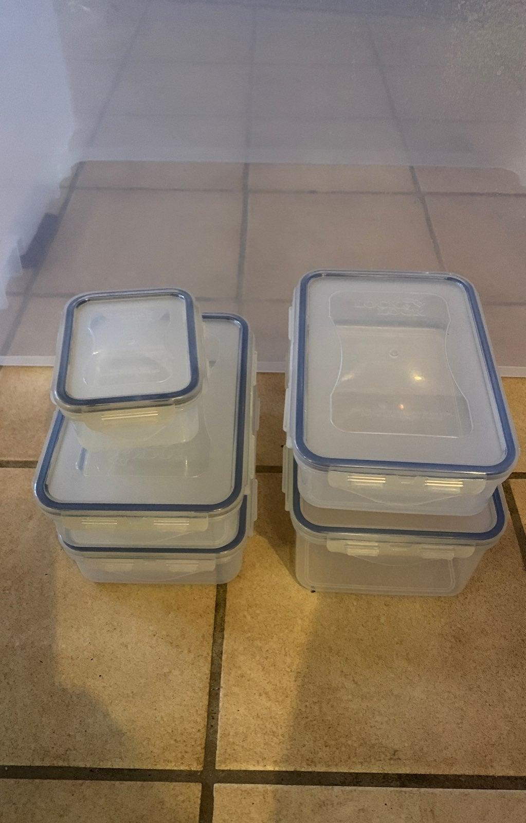 Lock & Lock Rectangular Container Set