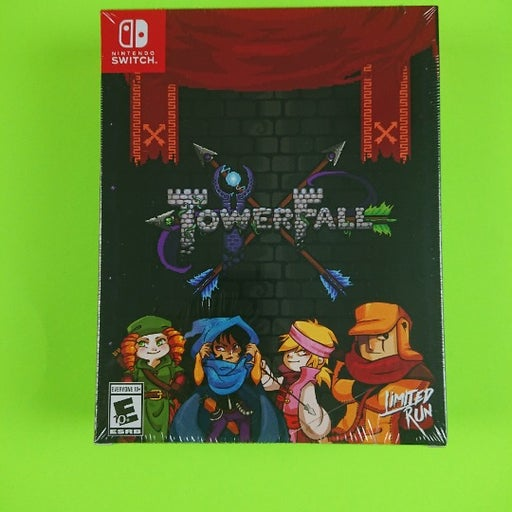 Brand New Sealed TowerFall Collector's Edition Limited Run #089