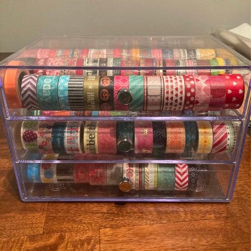 Washi Tape holder & 100+ washi tape
