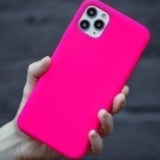 New iPhone 12 PRO MAX Hot Pink Case