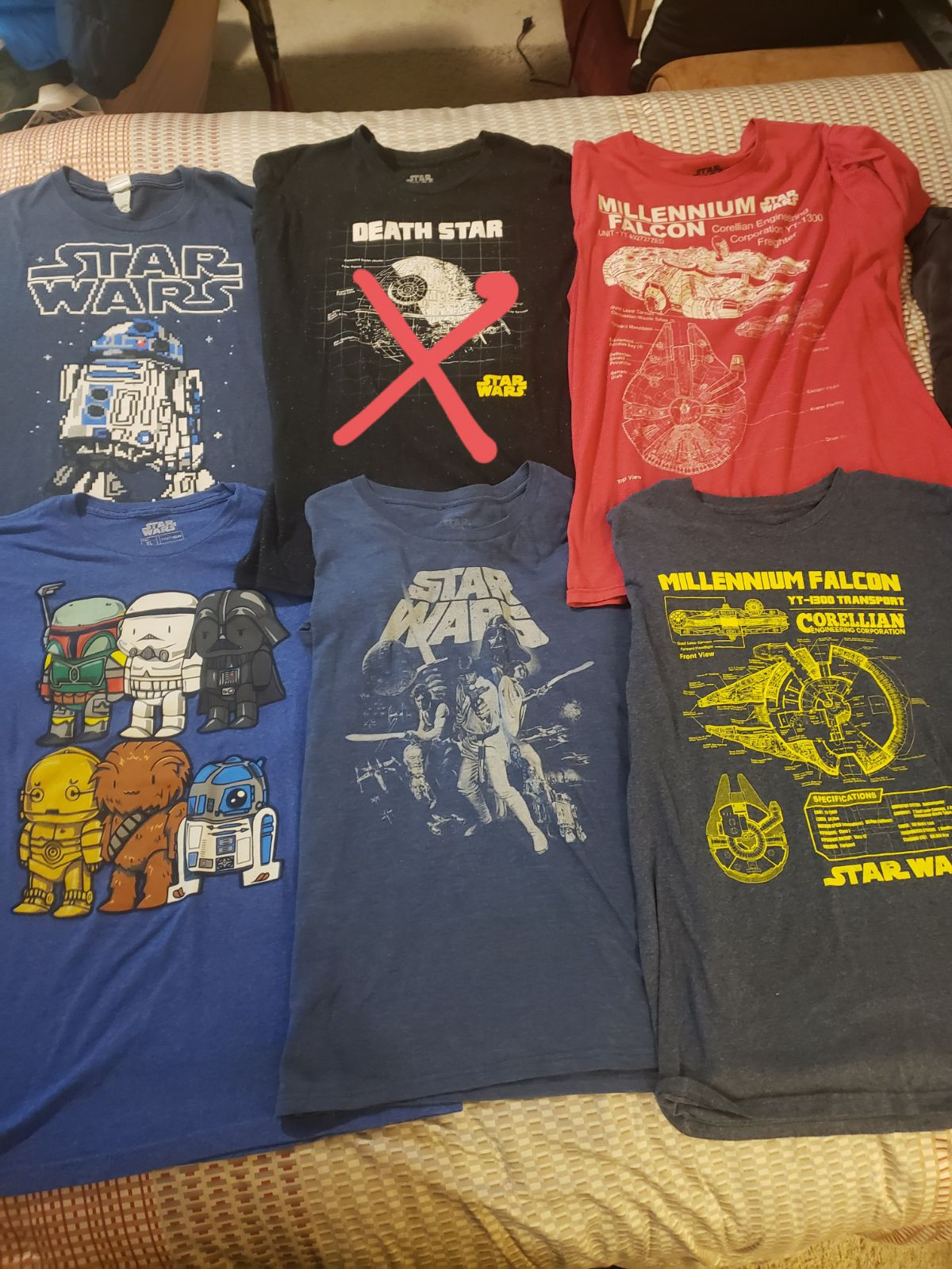 Star Wars Graphic T Shirts