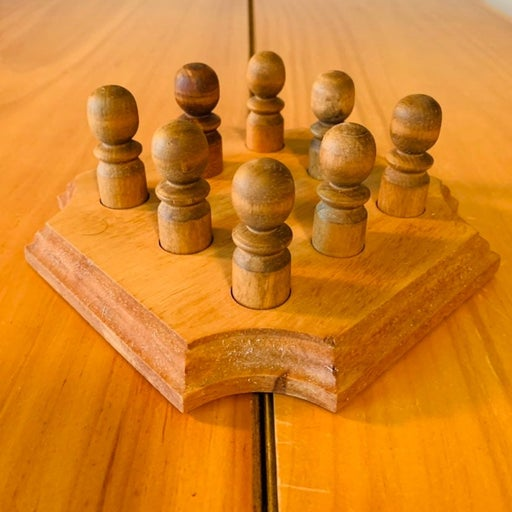 PEG BOARD GAME Handcrafted Smaller