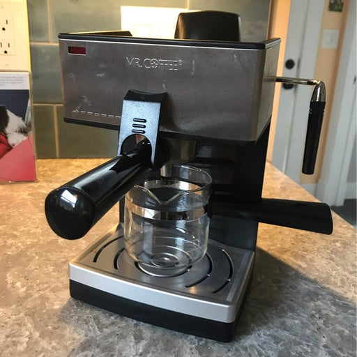 Mr. Coffee Espresso maker with milk frother
