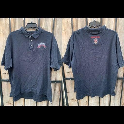 CROSS CREEK Men's Black Polo Shirt XXL