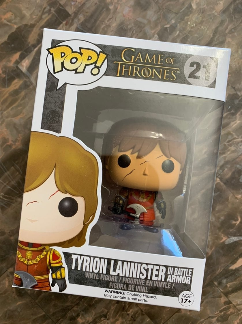 Game Of Thrones Tyrion Funko Pop