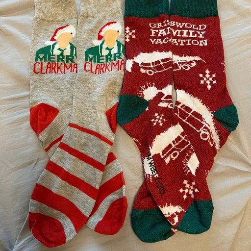 National Lampoon's Christmas Vacation Crew Socks