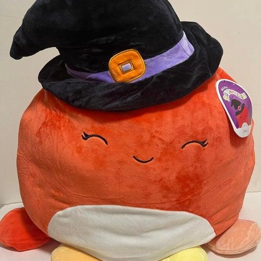 """16"""" Squishmallow Detra orange Octopus"""