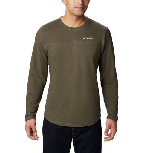 Columbia Rugged Ridge Green Long Sleeve Crew Shirt