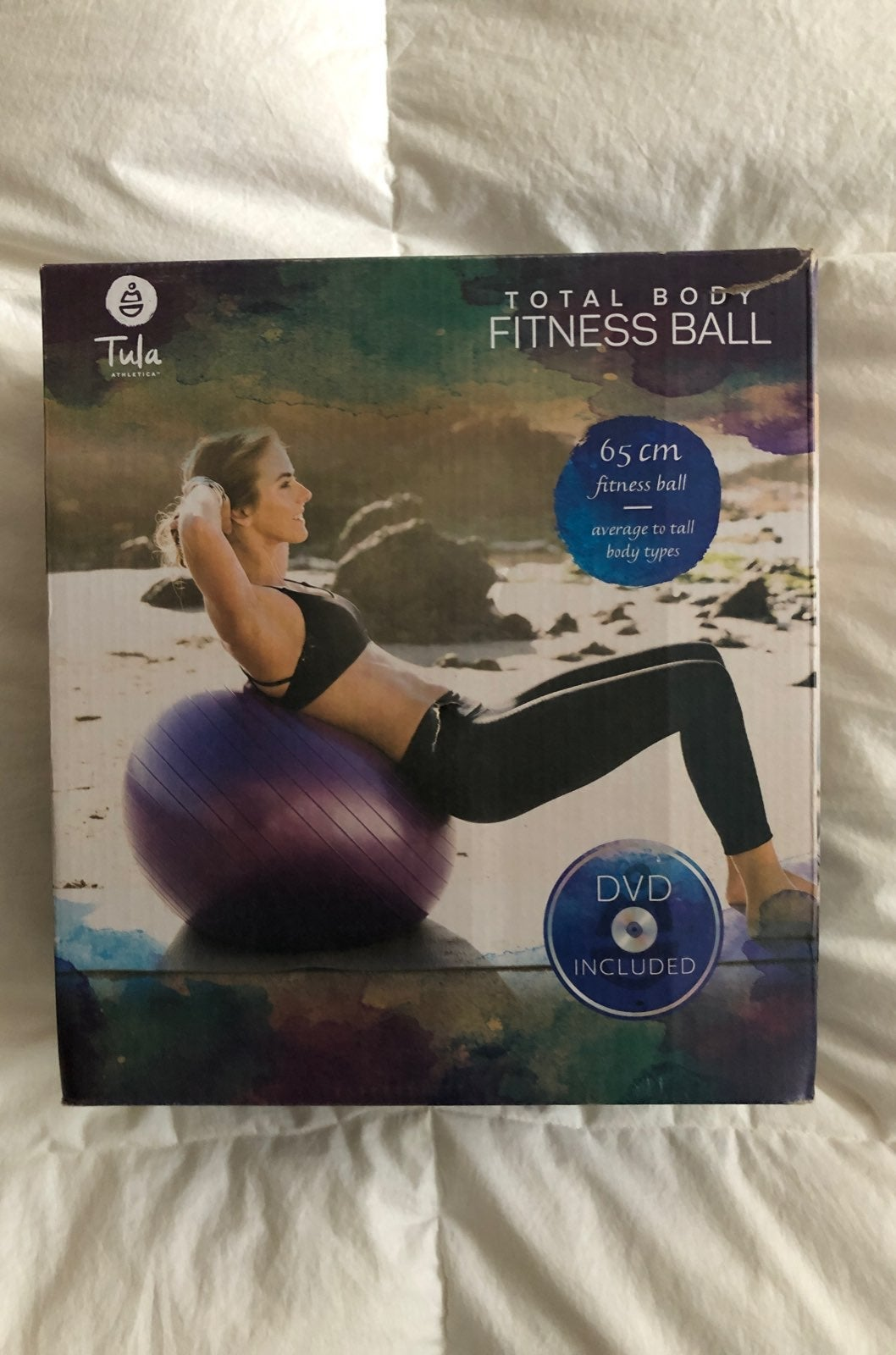 Tula total body fitness ball