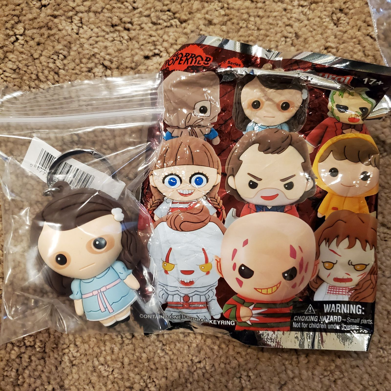 The Shining Twin Horror 3D Fig Keychain
