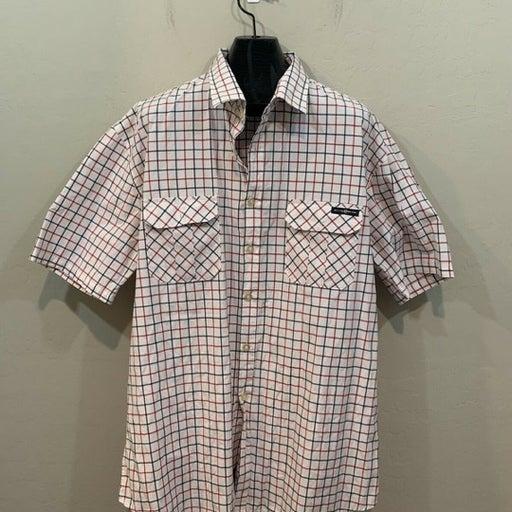 Enyce Red Grey Short Sleeve Shirt 5X