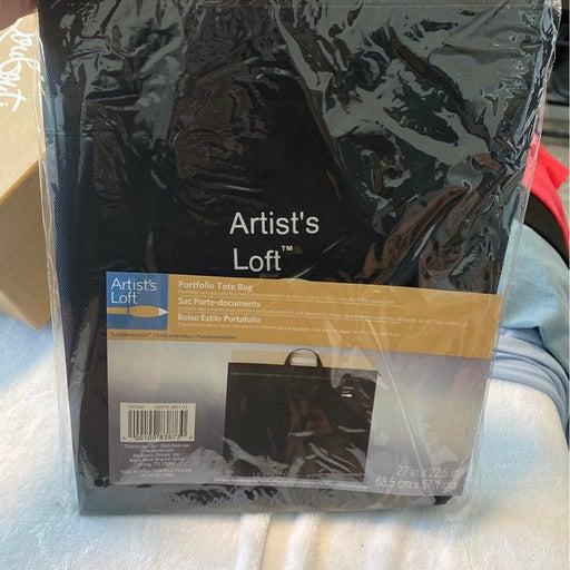 Artist loft portfolio tote bag