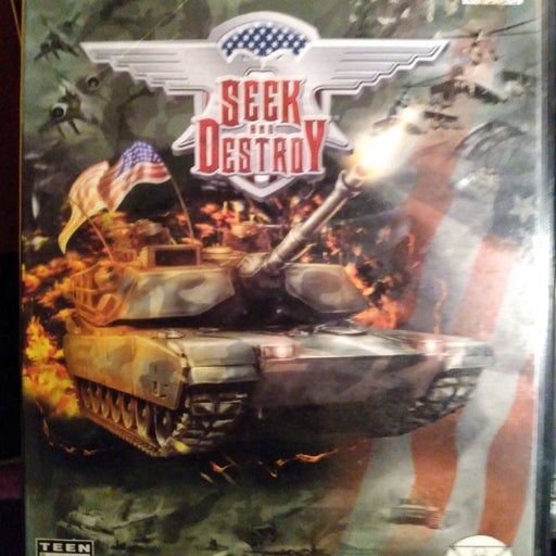 PlayStation 2 game Seek and Destroy by T