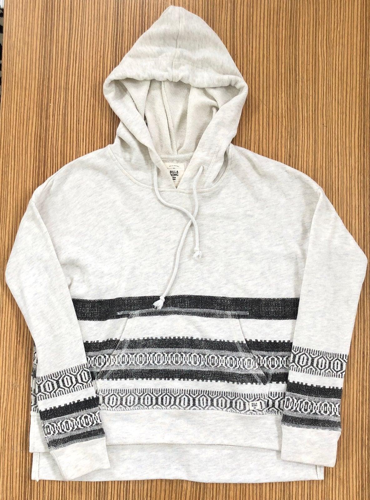 Women/'s Billabong Monroe Zip Hoodie // Hooded Jacket RRP $79.99. Size 10 NWT