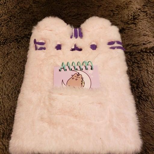 Pusheen Journal Pink Fluffy Notebook