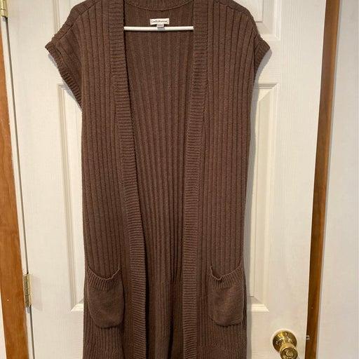 Womans sweater tunic.  Large. C&B label
