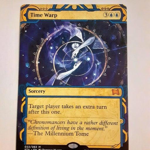 MTG Time Warp Mythic Rare Foil