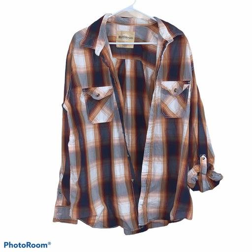 Ruff Hewn XXL Mens Plaid Shirt