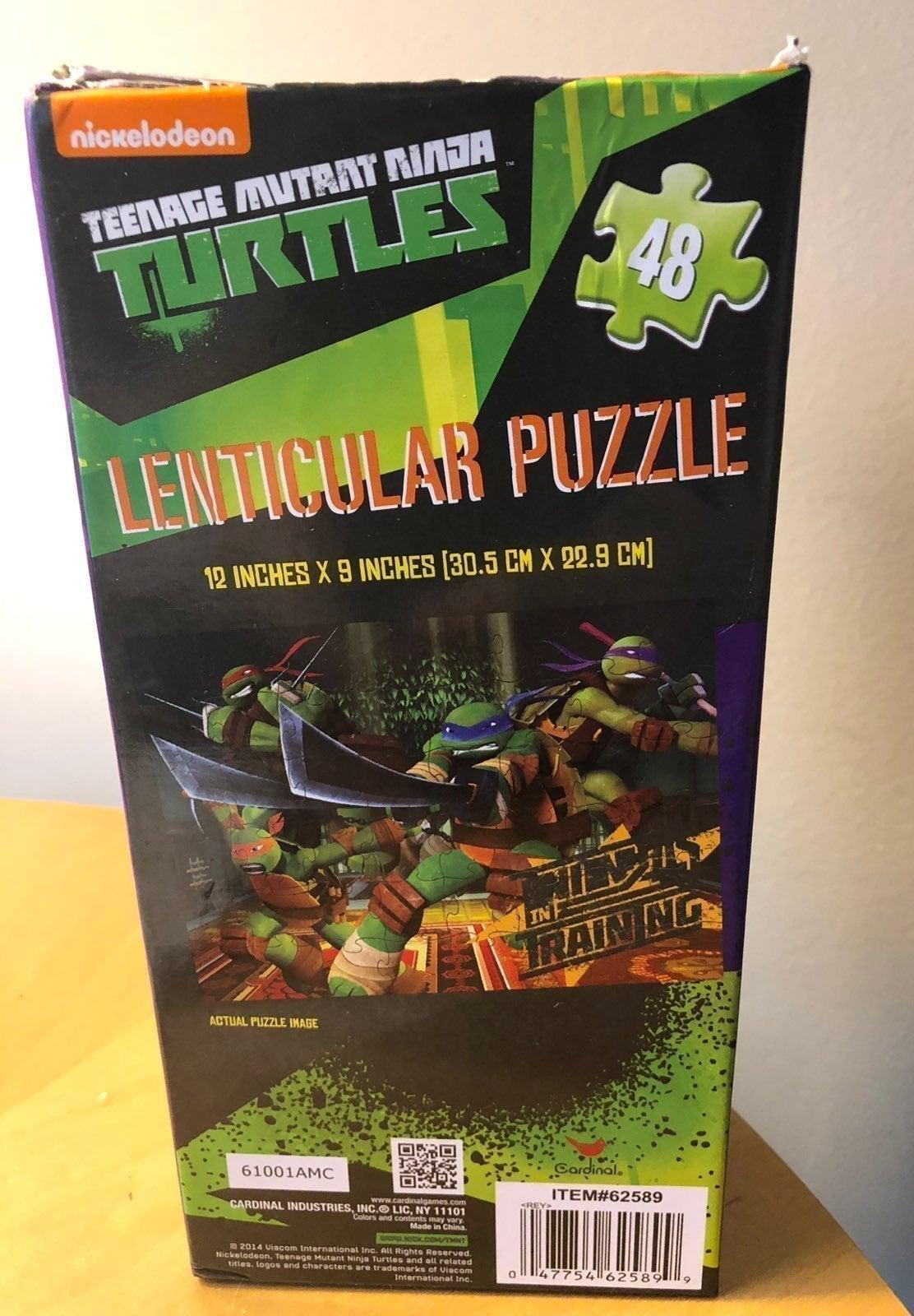Teenage Mutant Ninja Turtles 3D Puzzle