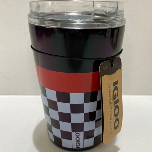 IGLOO CHECKERS LEGACY 12 OZ STAINLESS ST