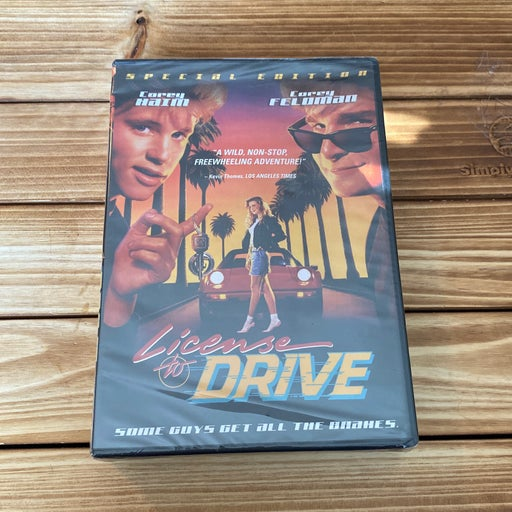 License To Drive DVD BN/ Sealed. OOP Rare