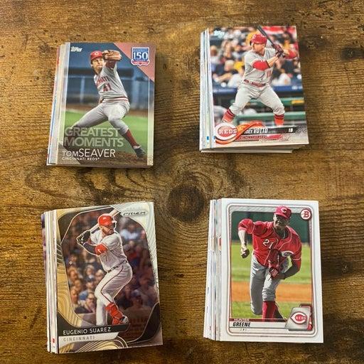 Cincinnati Reds 80 card baseball team lot