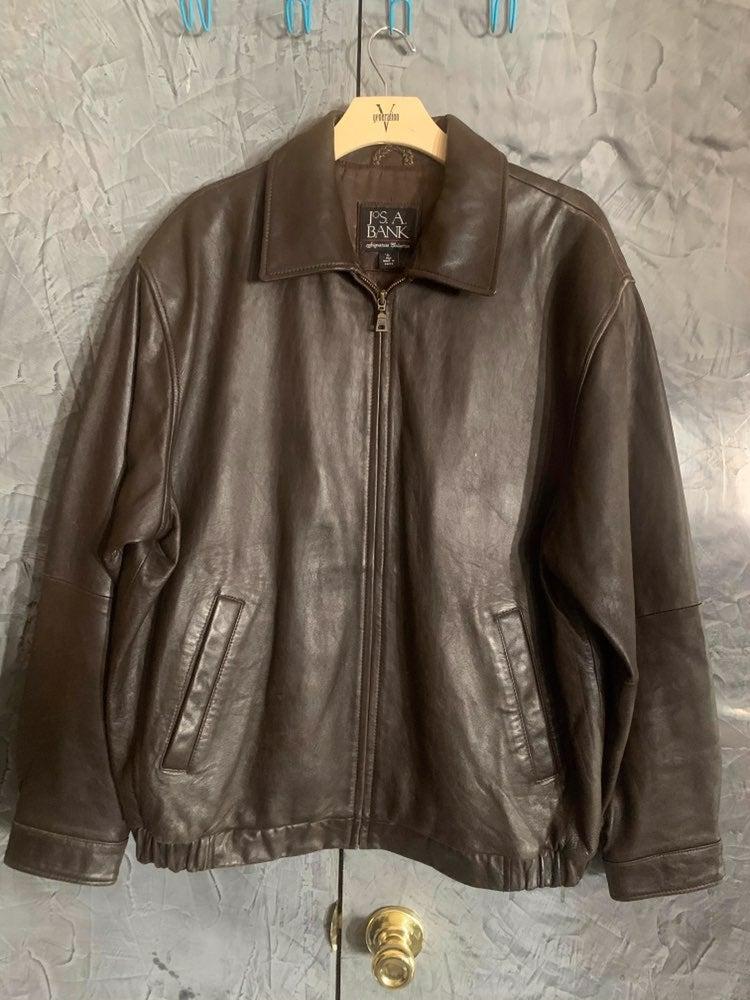 Jos. A. Bank Leather Jacket