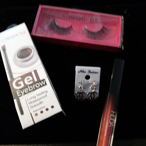 Big sale today Gel brown & 3D lashes & e