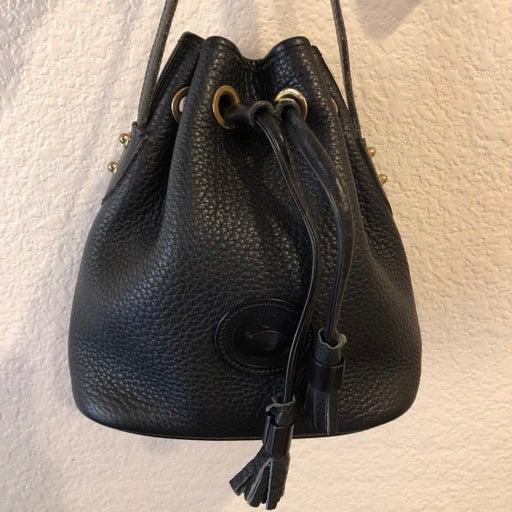 Small Vintage Black Dooney & Bourke Bag