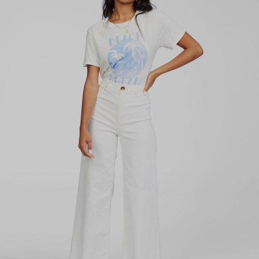 Free Fall Stretch Cotton Crop Wide Leg Pants