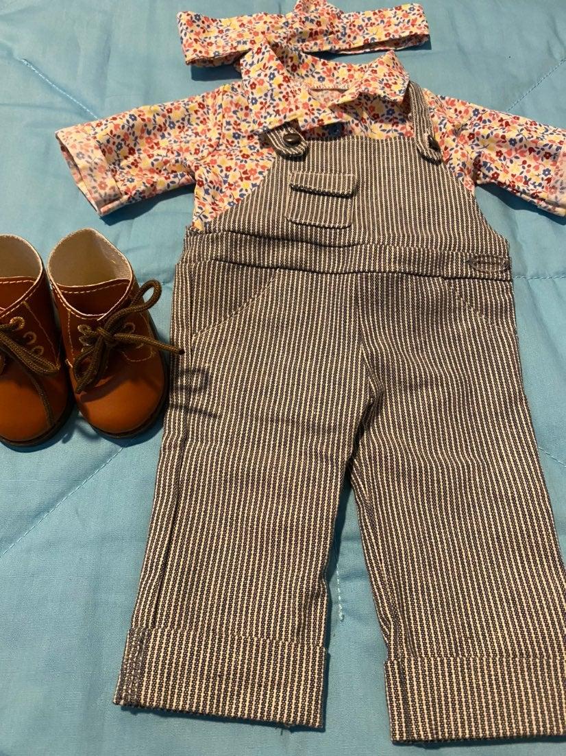American Girl Kit Gardening Outfit