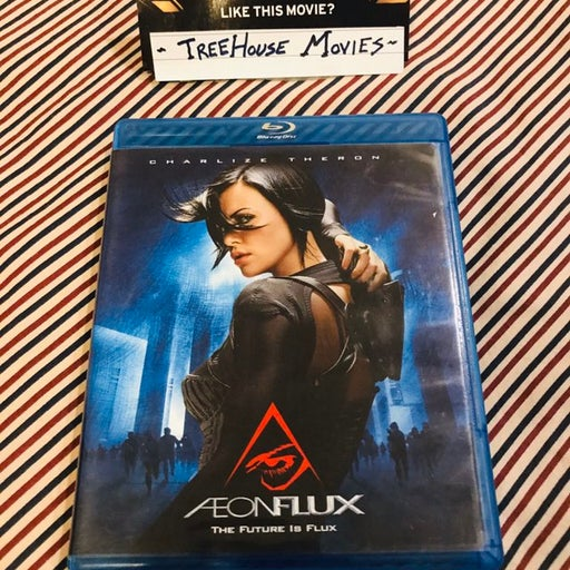 AEON FLUX ~ Blu Ray in Very Good condition Complete with Case and Cover art
