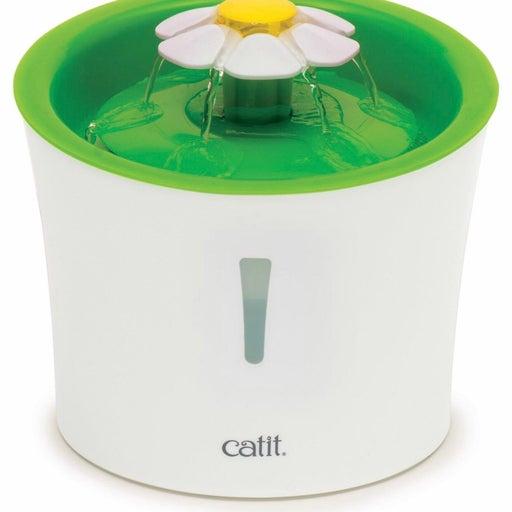 Catit Flower Plastic Cat Fountain, 100-oz