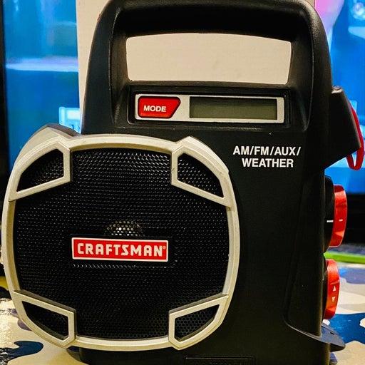 Craftsman FM/AM/AUX weather Radio (No Ch