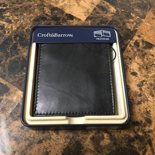 Men Croft&Barrow wallet NWT