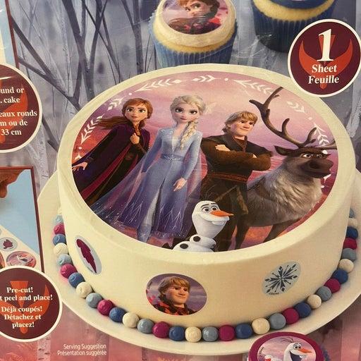 Disney Frozen Edible cake topper